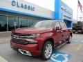Cajun Red Tintcoat 2019 Chevrolet Silverado 1500 High Country Crew Cab 4WD