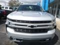 2019 Silver Ice Metallic Chevrolet Silverado 1500 RST Crew Cab 4WD  photo #8