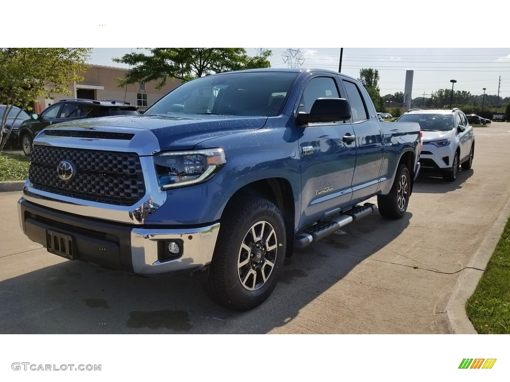2019 Tundra TRD Off Road Double Cab 4x4 - Cavalry Blue / Graphite photo #1