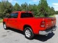 Flame Red - 1500 Laramie Quad Cab 4x4 Photo No. 8