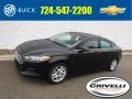 2015 Tuxedo Black Metallic Ford Fusion SE  photo #1