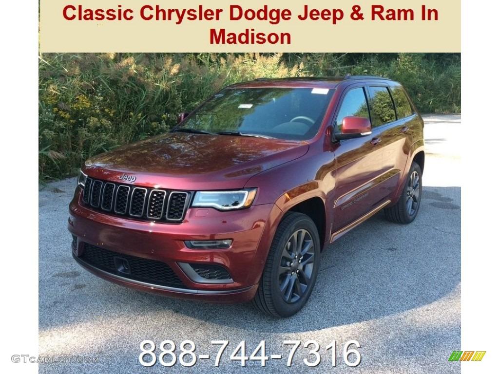 Jeep Cherokee Altitude >> 2019 Velvet Red Pearl Jeep Grand Cherokee High Altitude 4x4 #129496174 Photo #12   GTCarLot.com ...