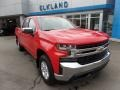 2019 Red Hot Chevrolet Silverado 1500 LT Crew Cab 4WD  photo #1