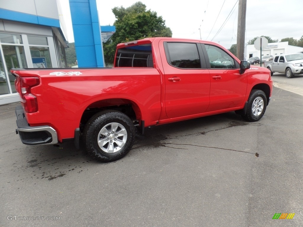 2019 Silverado 1500 LT Crew Cab 4WD - Red Hot / Jet Black photo #10