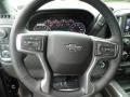 Jet Black Steering Wheel Photo for 2019 Chevrolet Silverado 1500 #129508209