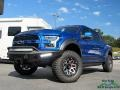 Lightning Blue 2018 Ford F150 Shelby BAJA Raptor SuperCrew 4x4