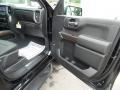 Jet Black Door Panel Photo for 2019 Chevrolet Silverado 1500 #129508890