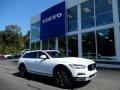 Crystal White Pearl Metallic 2018 Volvo V90 Cross Country T5 AWD
