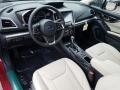 Ivory Interior Photo for 2019 Subaru Impreza #129527087
