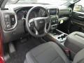 Jet Black Interior Photo for 2019 Chevrolet Silverado 1500 #129530771