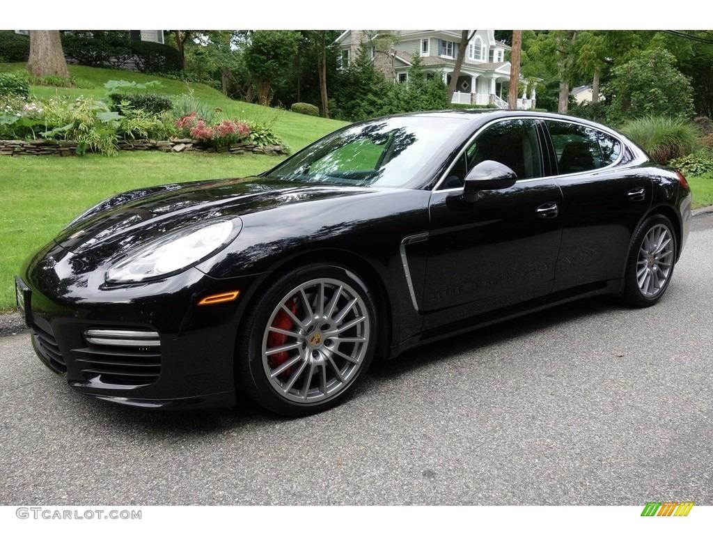 2015 Jet Black Metallic Porsche Panamera Turbo 129546350 Gtcarlot Com Car Color Galleries