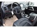 2019 Land Cruiser 4WD Black Interior