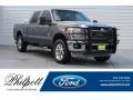 2011 Sterling Grey Metallic Ford F250 Super Duty Lariat Crew Cab 4x4 #129592630