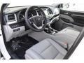 2019 Highlander Limited Platinum AWD Ash Interior