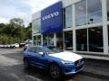 Bursting Blue Metallic 2019 Volvo XC60 T6 AWD R-Design