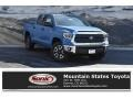 2019 Cavalry Blue Toyota Tundra SR5 CrewMax 4x4  photo #1