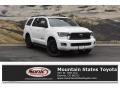 Super White 2019 Toyota Sequoia TRD Sport 4x4