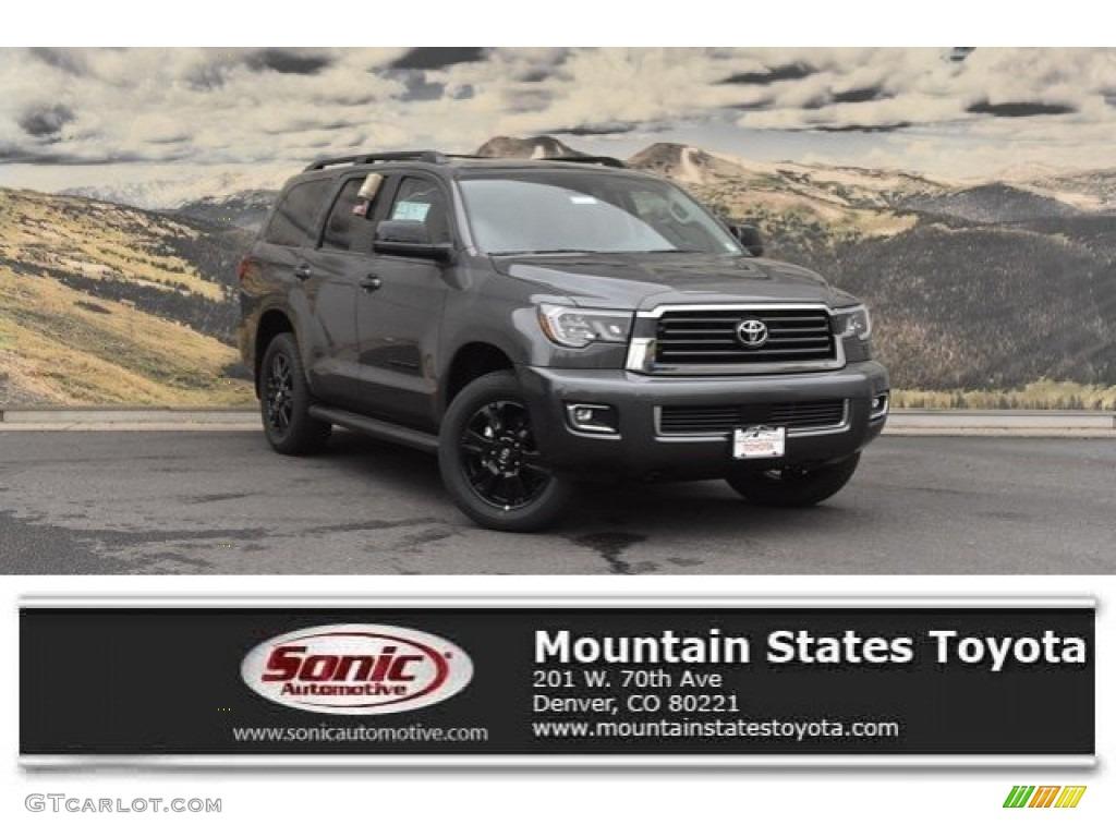 2019 Magnetic Gray Metallic Toyota Sequoia Trd Sport 4x4