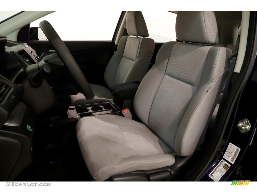 2015 CR-V LX AWD - Obsidian Blue Pearl / Gray photo #6