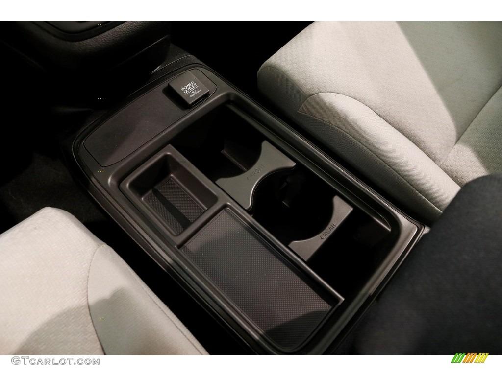 2015 CR-V LX AWD - Obsidian Blue Pearl / Gray photo #13