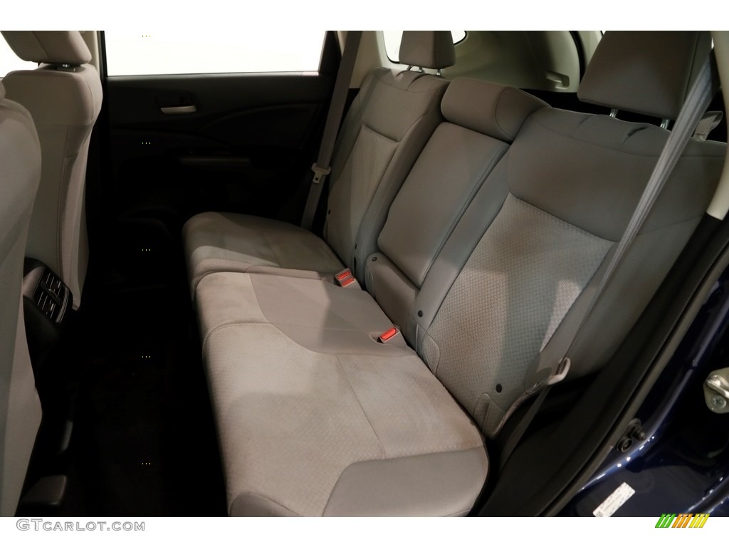 2015 CR-V LX AWD - Obsidian Blue Pearl / Gray photo #17