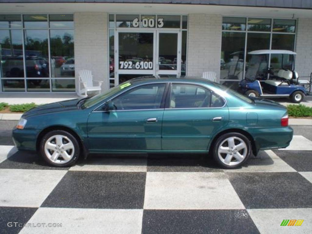 2002 s noble green metallic acura tl 3 2 type s 12962361 car color galleries. Black Bedroom Furniture Sets. Home Design Ideas