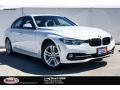 Mineral White Metallic 2018 BMW 3 Series 330i Sedan