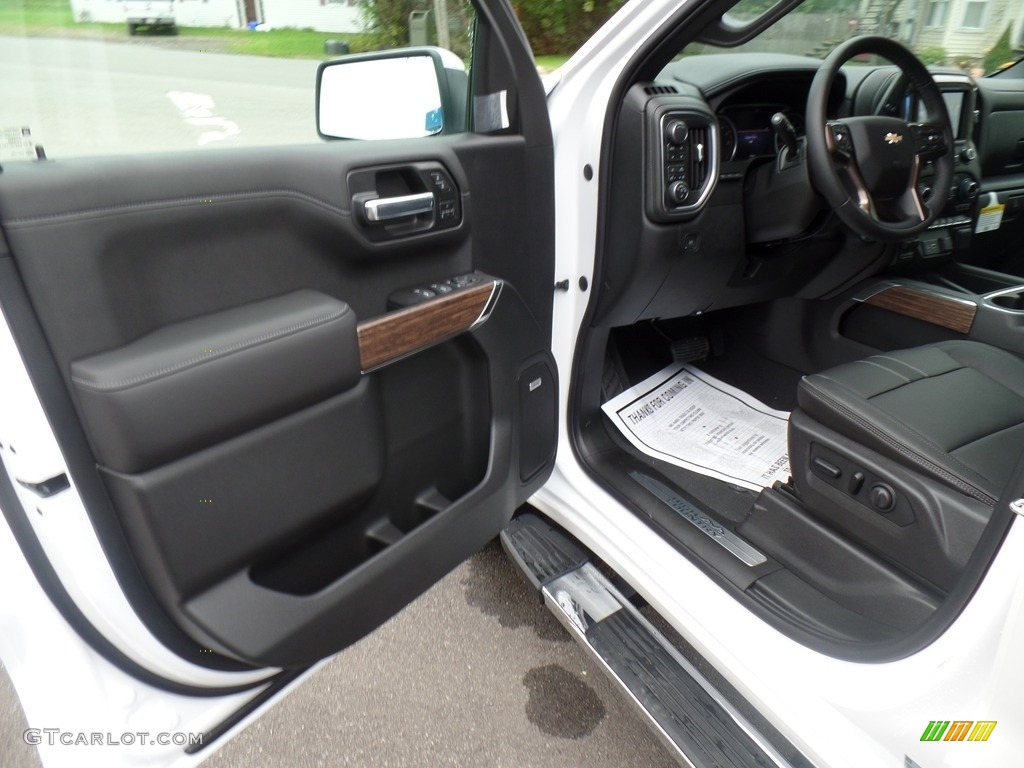 2019 Silverado 1500 High Country Crew Cab 4WD - Summit White / Jet Black photo #14