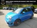 Laser Blue Metallic 2018 Fiat 500 Abarth