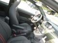 2018 500 Abarth Cabrio Nero (Black) Interior