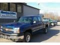 2003 Arrival Blue Metallic Chevrolet Silverado 2500HD LS Extended Cab 4x4  photo #1