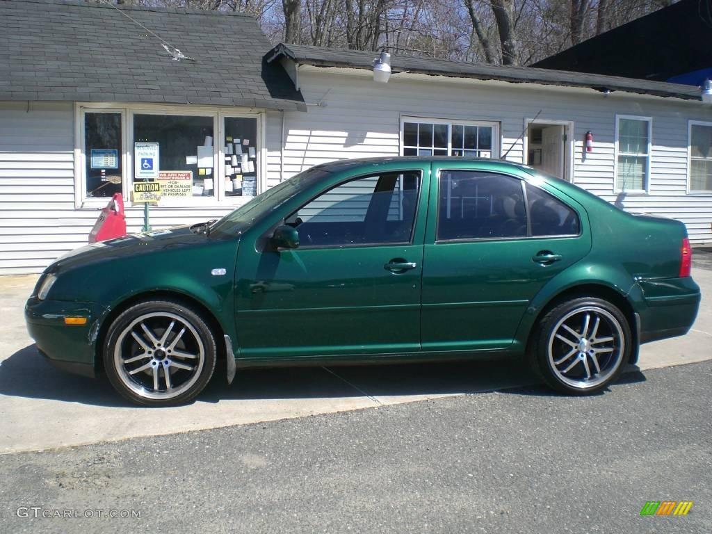 2001 baltic green volkswagen jetta gls 1 8t sedan 12956438 photo 4 car color. Black Bedroom Furniture Sets. Home Design Ideas