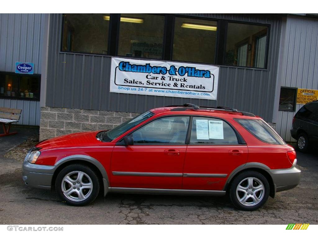 2004 san remo red subaru impreza outback sport wagon 12958119 2004 impreza outback sport wagon san remo red gray photo 2 vanachro Gallery