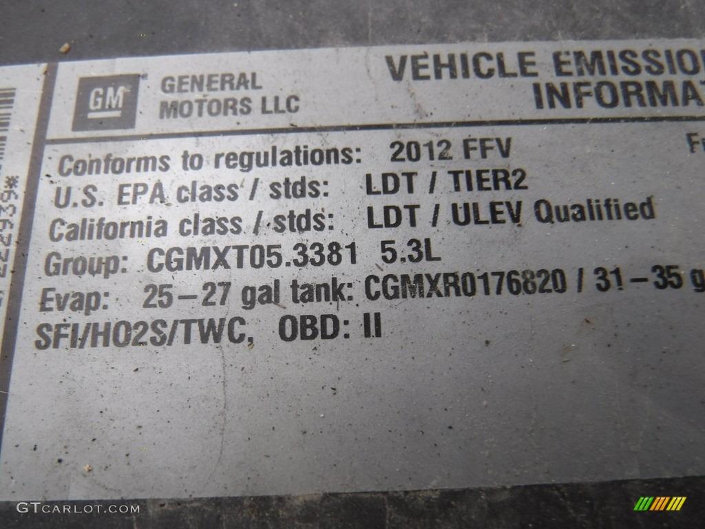 2012 Silverado 1500 LT Crew Cab 4x4 - Mocha Steel Metallic / Ebony photo #15