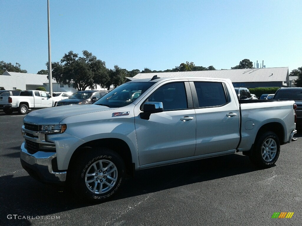 2019 Silverado 1500 LT Crew Cab 4WD - Silver Ice Metallic / Jet Black photo #1