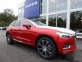 Fusion Red Metallic 2019 Volvo XC60 T5 AWD Inscription