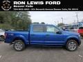 Lightning Blue 2018 Ford F150 Gallery