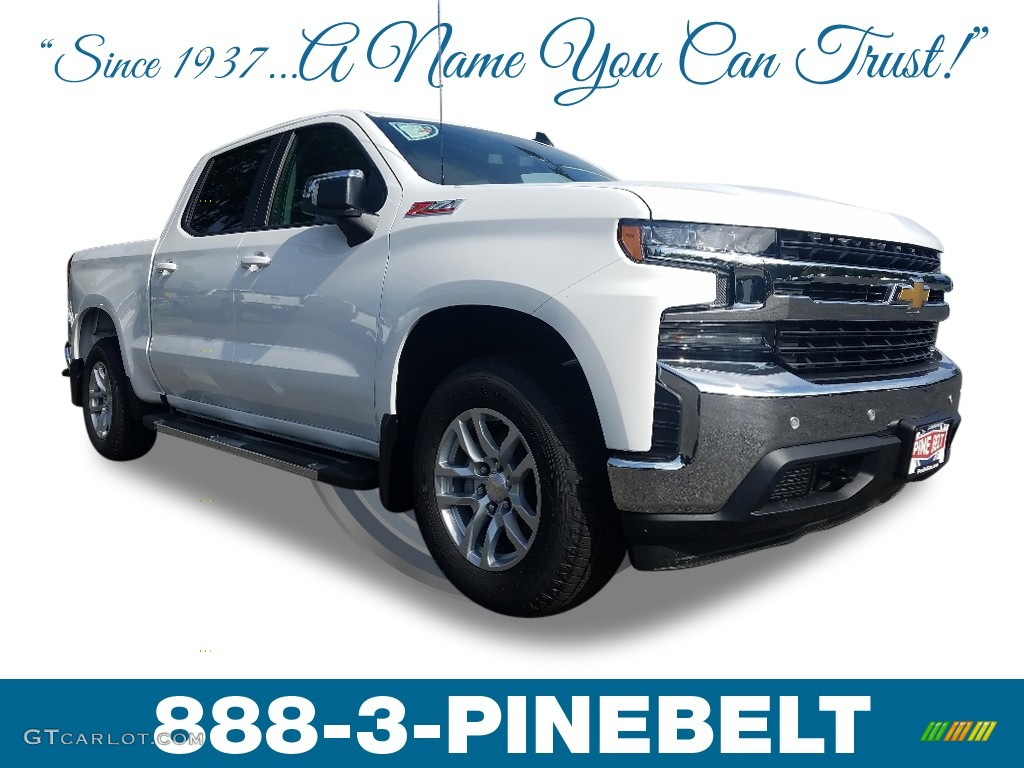 2019 Silverado 1500 LT Crew Cab 4WD - Summit White / Jet Black photo #1