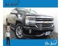 Black 2017 Chevrolet Silverado 1500 High Country Crew Cab 4x4