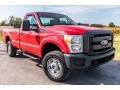 2011 Vermillion Red Ford F250 Super Duty XL Regular Cab 4x4 #129795320