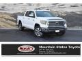 2019 Super White Toyota Tundra 1794 Edition CrewMax 4x4  photo #1