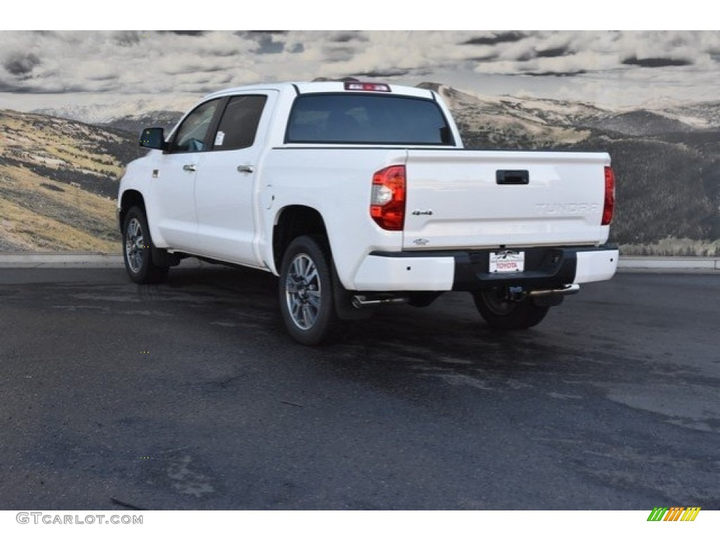 2019 Tundra 1794 Edition CrewMax 4x4 - Super White / Black photo #3
