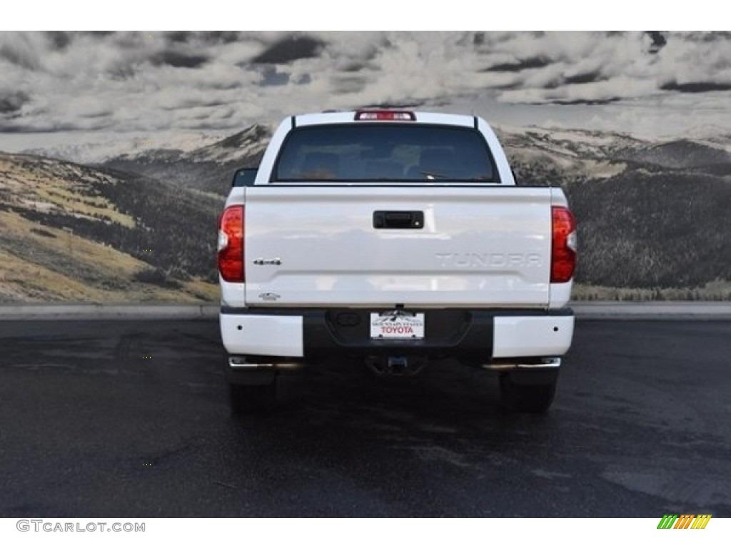 2019 Tundra 1794 Edition CrewMax 4x4 - Super White / Black photo #4