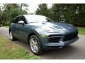 Front 3/4 View of 2019 Cayenne