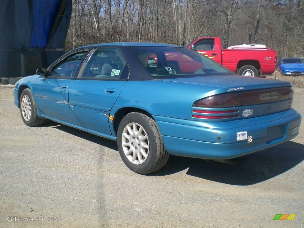 1997 intrepid sedan island teal satin glow gray photo 5