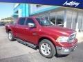 2012 Deep Cherry Red Crystal Pearl Dodge Ram 1500 Laramie Longhorn Crew Cab 4x4 #129818208