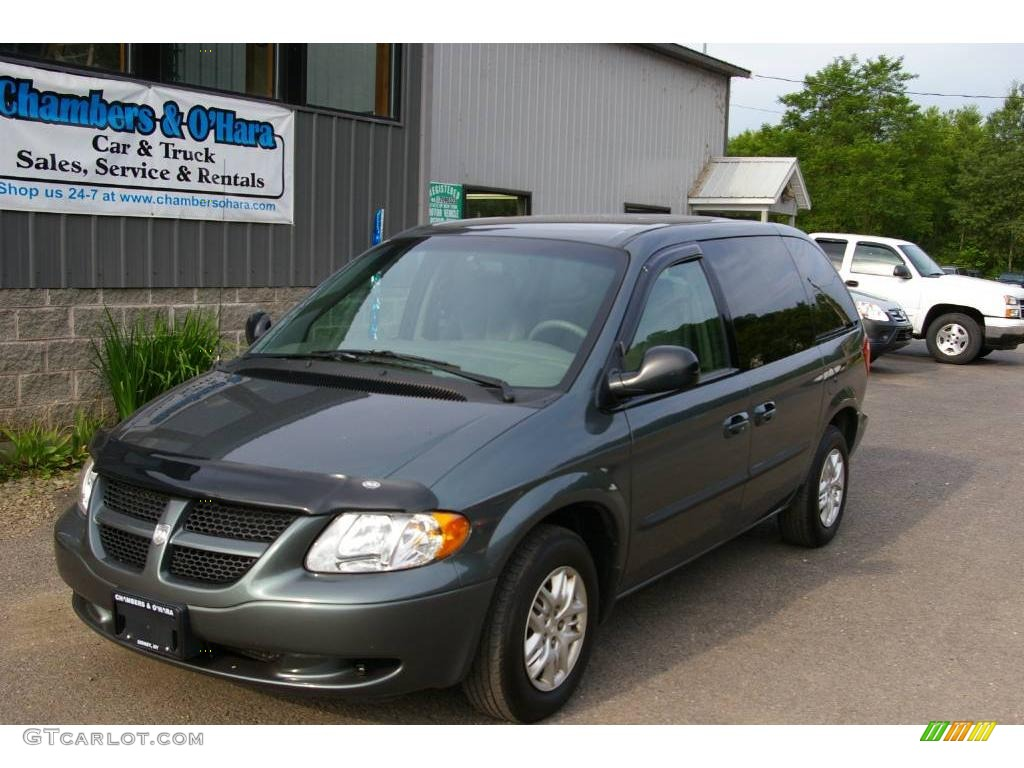 2002 onyx green pearl dodge caravan sport 12958149. Black Bedroom Furniture Sets. Home Design Ideas