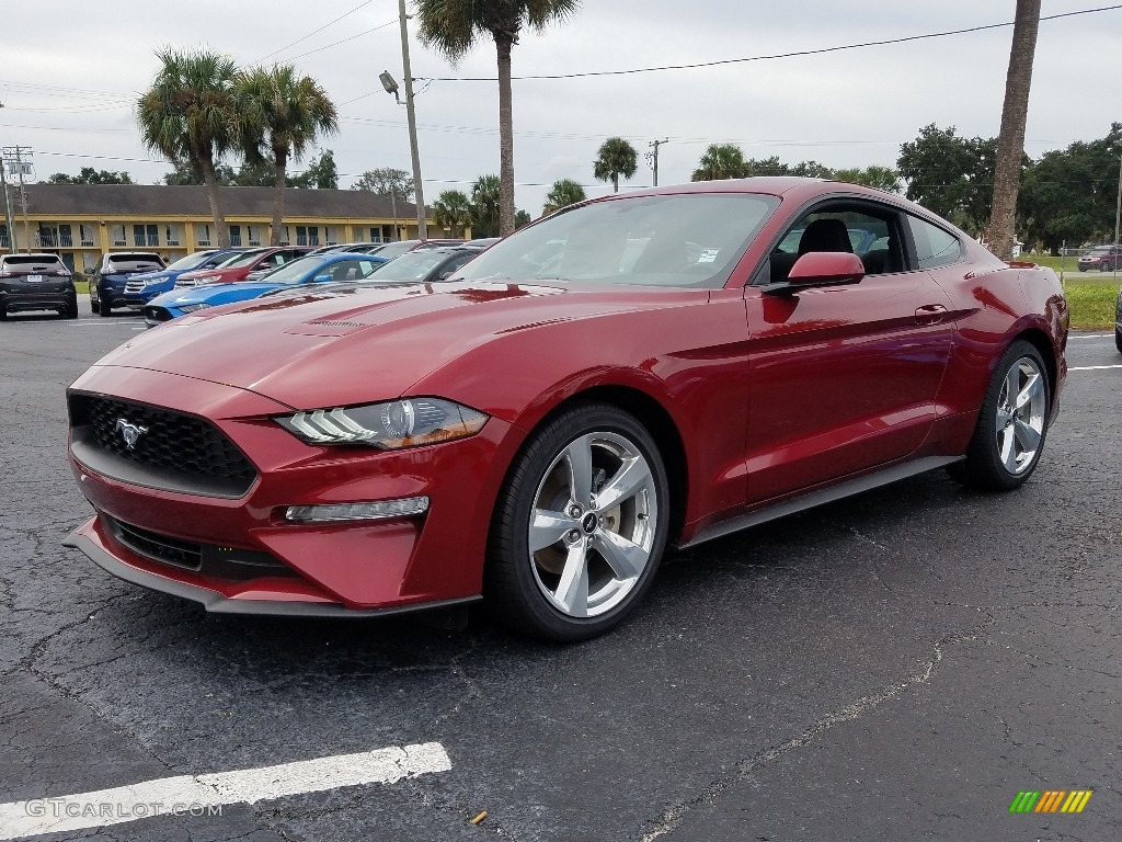 2018 Mustang EcoBoost Fastback - Ruby Red / Ebony photo #1