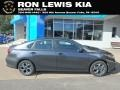 Gravity Grey 2019 Kia Forte LXS