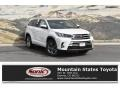 Blizzard Pearl White 2019 Toyota Highlander Limited Platinum AWD
